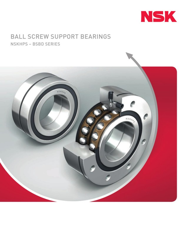 Ball Screw Support Bearings - BSBD Series