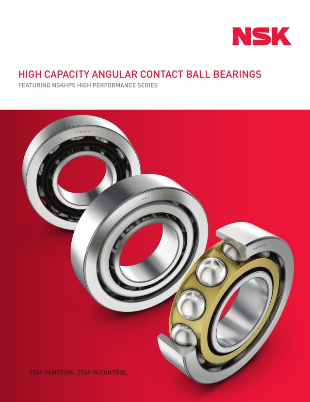 High Capacity Angular Contact Ball Bearings