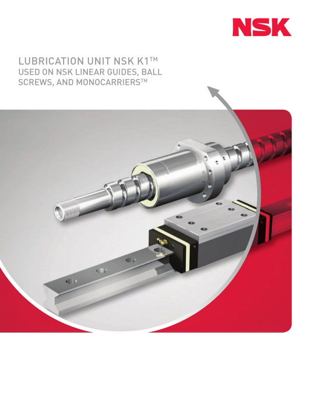 Lubrication Unit K1™ - Used on Linear Guides, Ball Screws and  Monocarriers