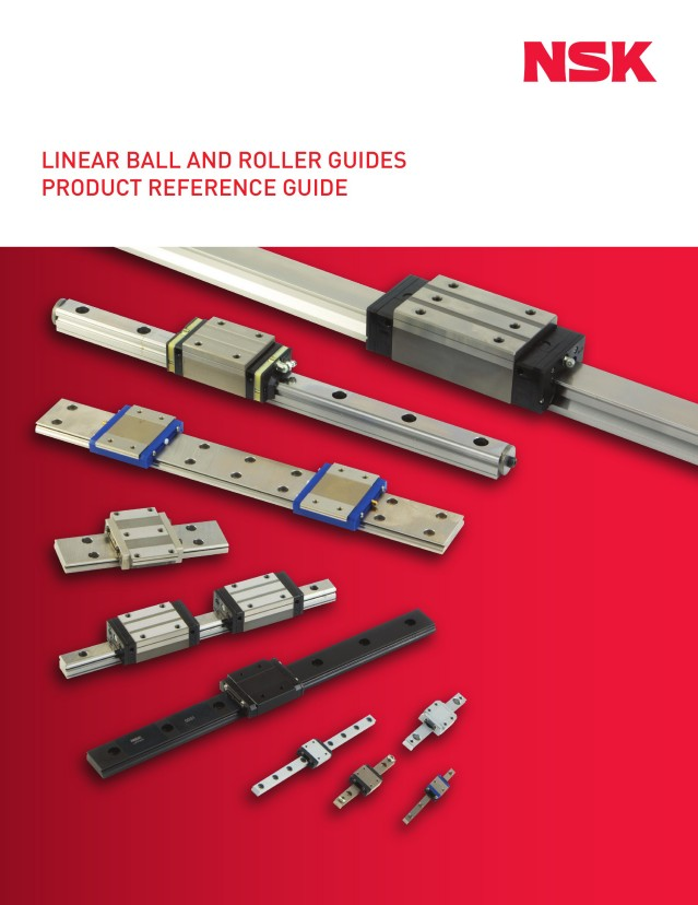 Linear Ball and Roller Guides - Product Reference Guide