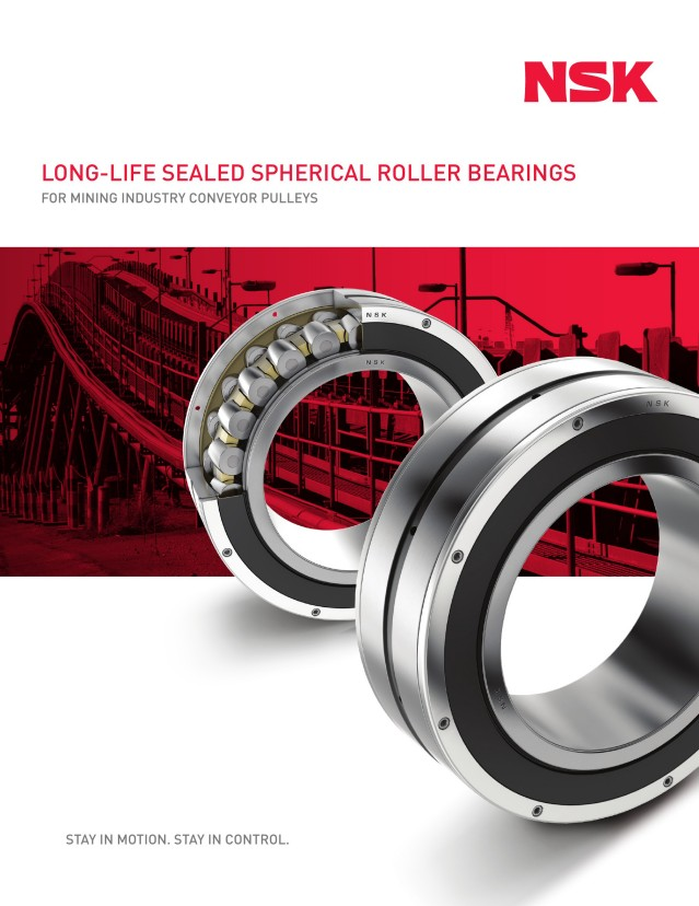 Long-Life Sealed SRBs for Mining Conveyor Pulleys