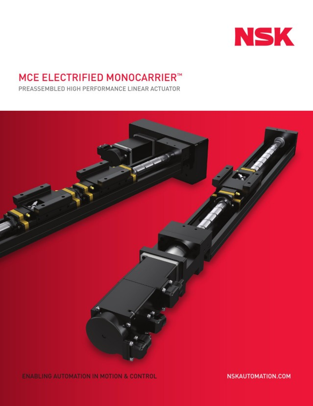 MCE Electrified Monocarrier