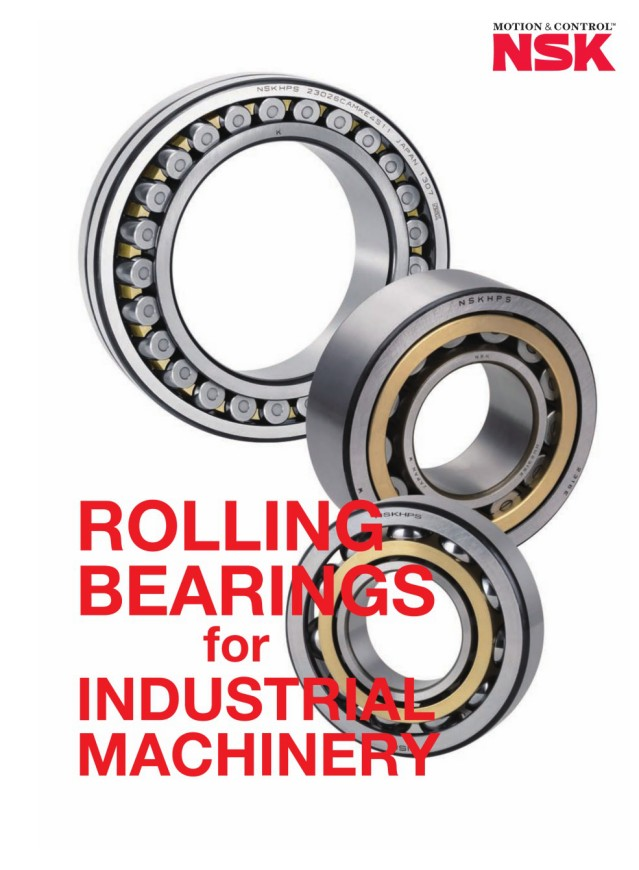 Rolling Bearings for Industrial Machinery