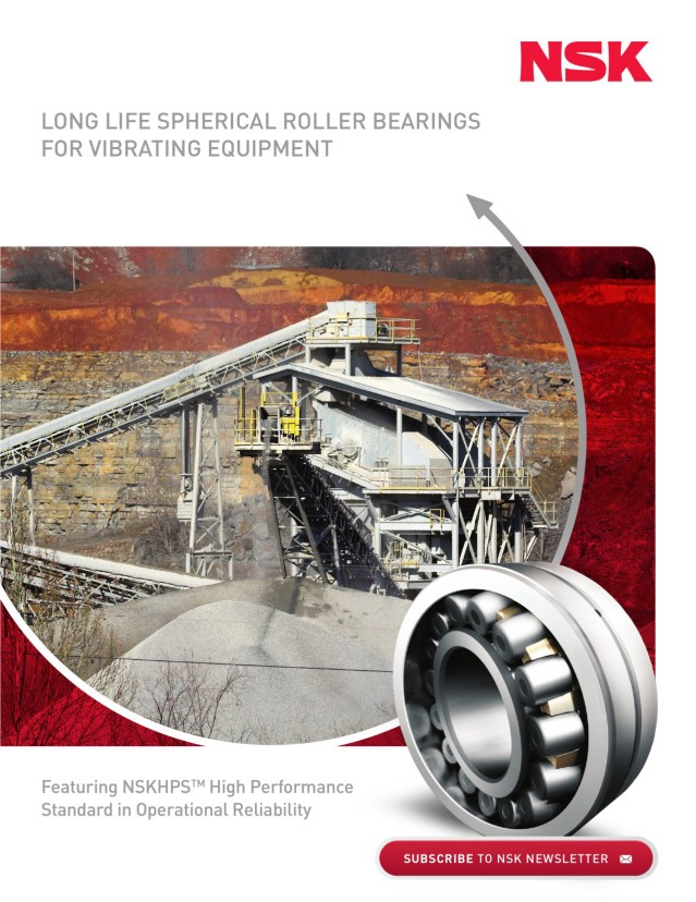 Long Life Spherical Roller Bearings for Vibrating Equipment