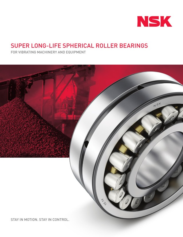 Super Long-Life Spherical Roller Bearings for Vibrating Machinery and Equipment