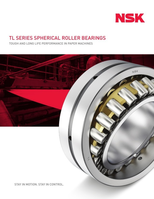 Tough and Long Life (TL) Spherical Roller Bearings