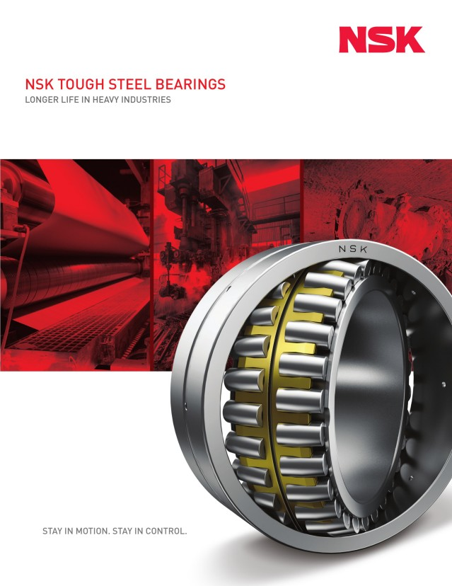 Tough Steel Bearings - Heavy Industries